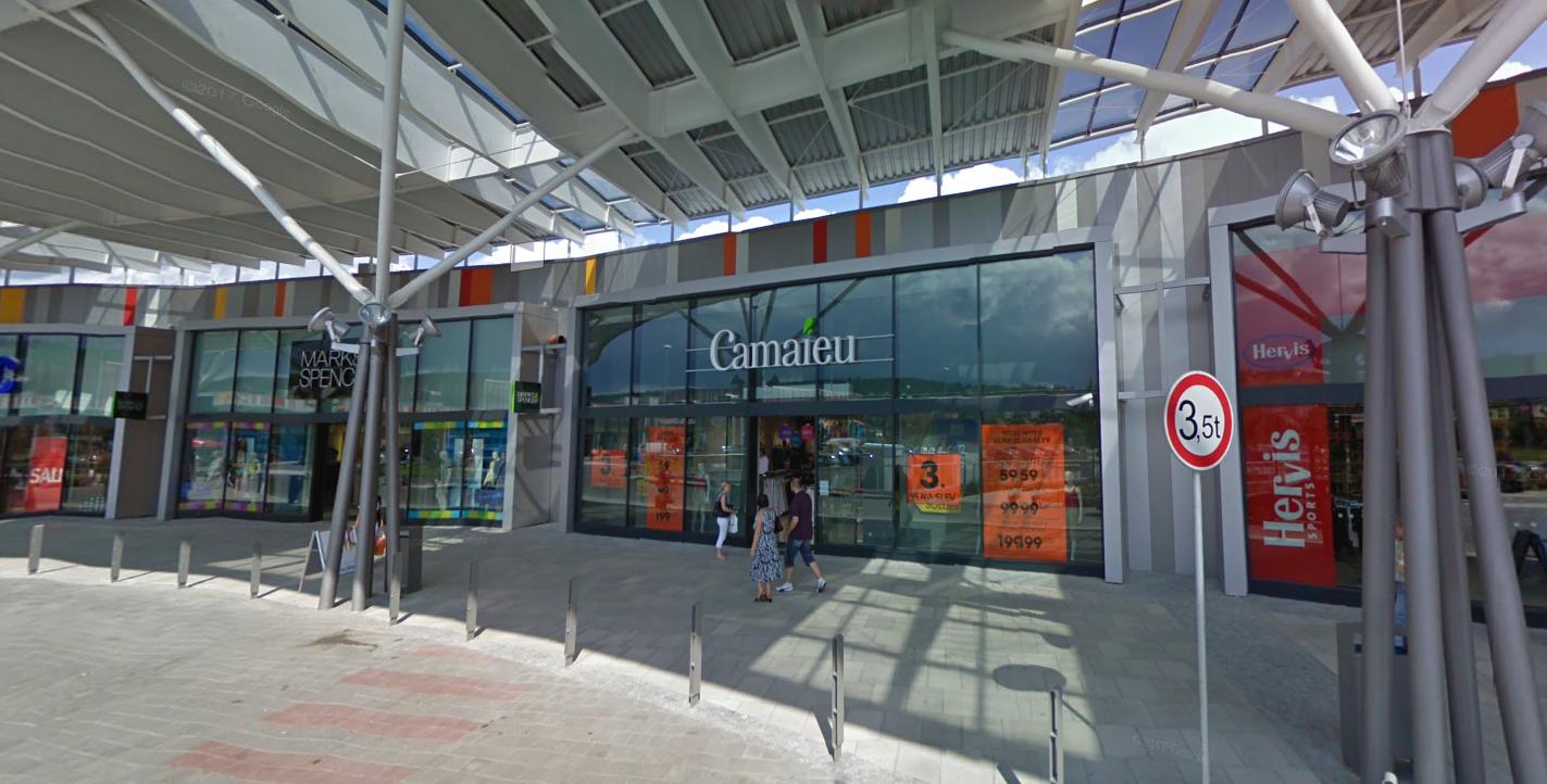 Obchod Camaieu Nákupní centrum Campus Square