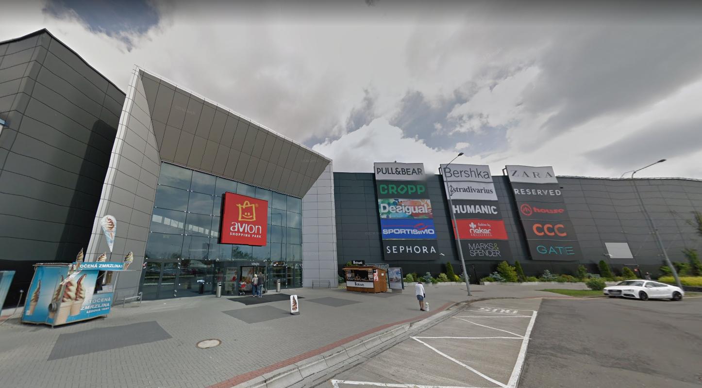 Obchod Camaieu Nákupní centrum Avion Shopping Park