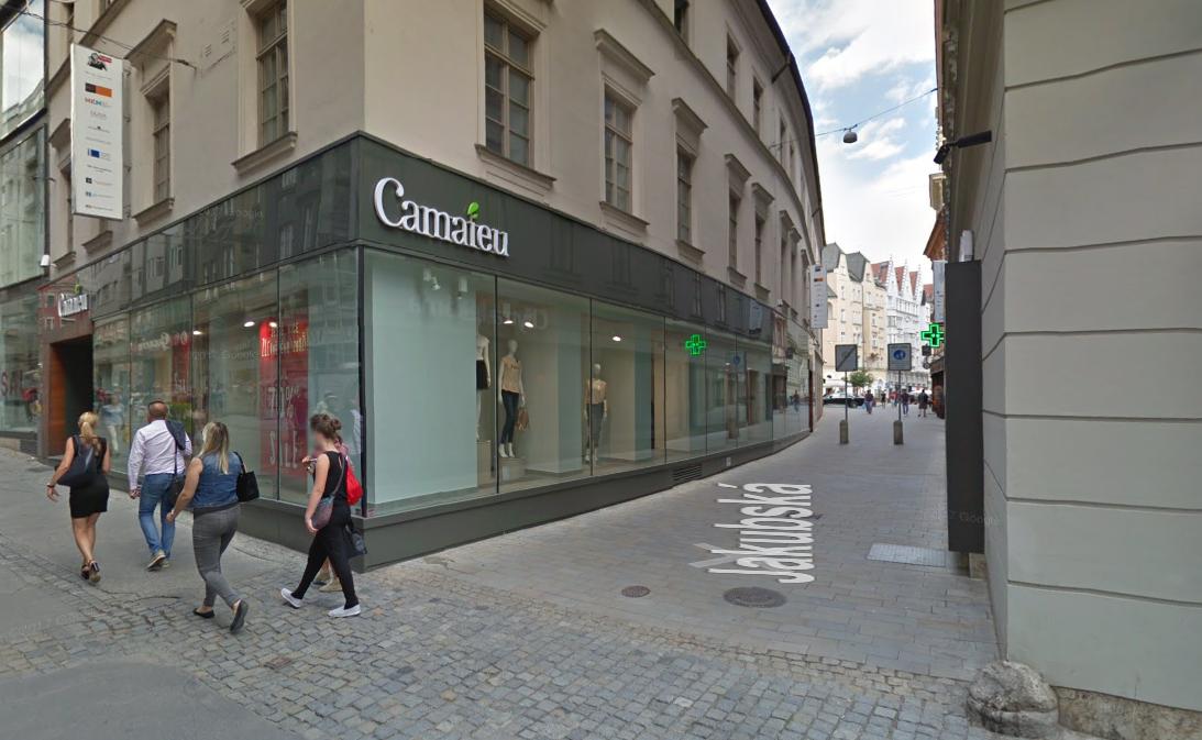 Obchod Camaieu Brno-střed