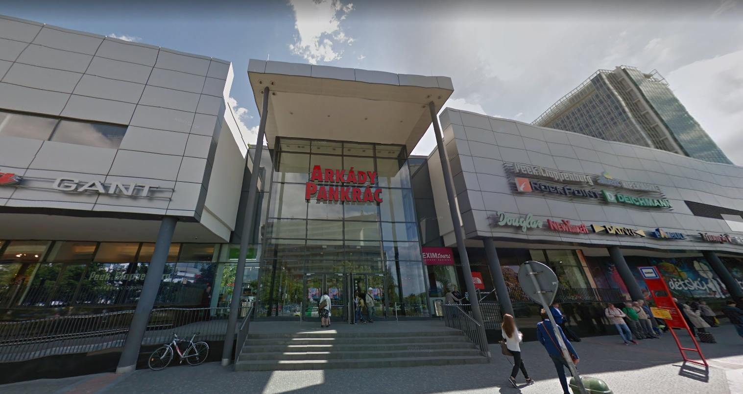 Obchod Camaieu Nákupní centrum Arkády Pankrác